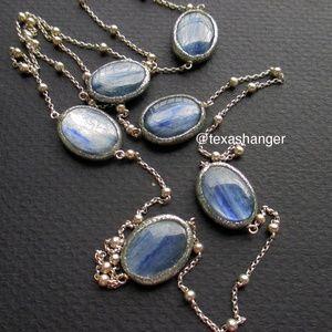 "NWT Estrosia Milan Kyanite 48"" Station necklace"
